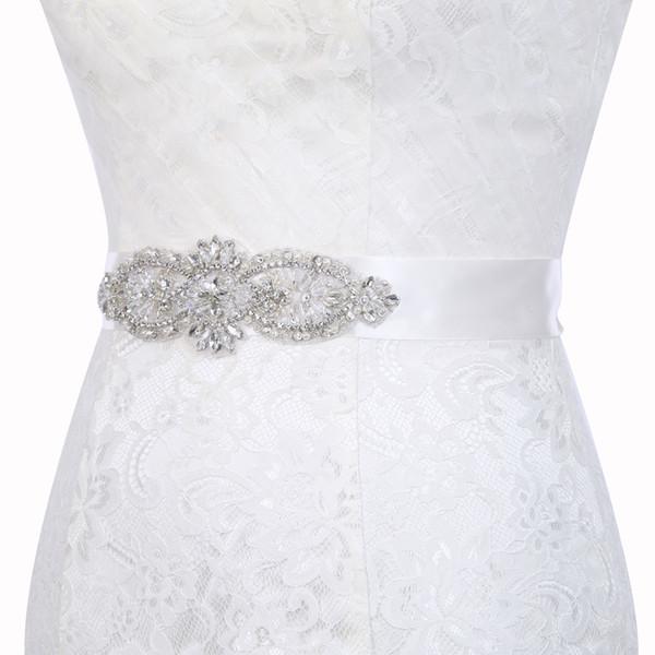 Glitter Girls strass ceinture boutique enfants perlé strass cristal princesse ceinture accessoires de mariage mariée 18 conception KKA7086