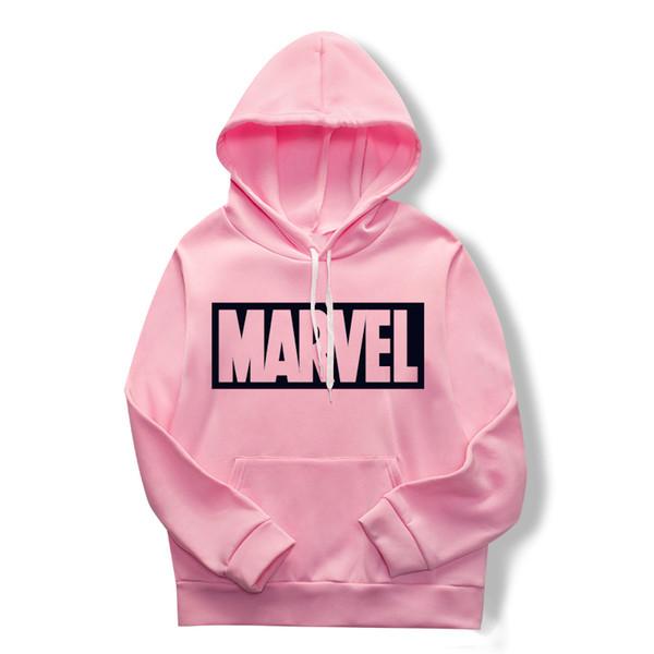 Les nouveaux sweats imprimés pour la mode pour 2019, sweats à capuche pour hommes et femmes, pulls imprimés de merveilles roses