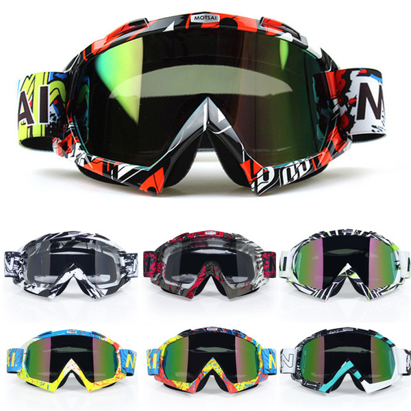best selling Motocross Motorcycle Goggles Atv Off Road Dirt Bike Dustproof Racing Glasses Anti Wind Eyewear Mx Goggles