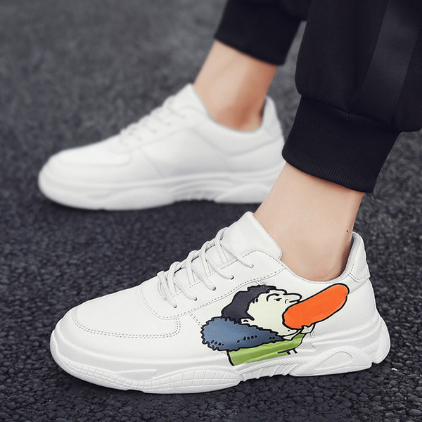 Primavera de 2019 nuevas parejas zapatos de la marca de lujo