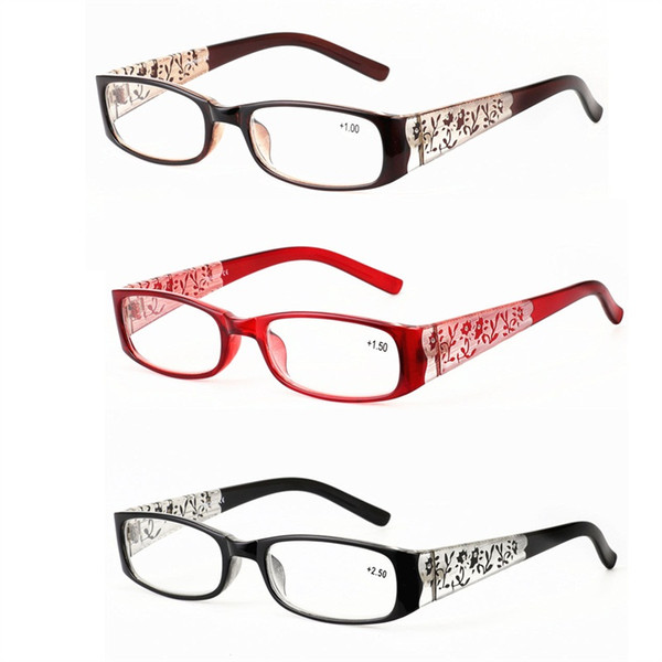 ff3988b0bdc5 Flower Carving Presbyopic Glasses For Women Comfortable Long Distance Glass  Reading Practical Eyeglass Fashion Luxury Hot Sale 7 5gx D1