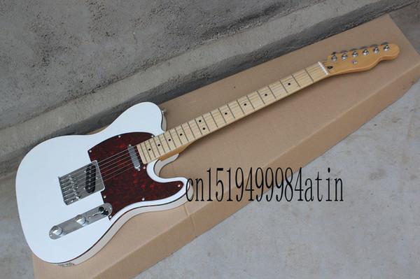 Frete grátis de alta qualidade! guitarra elétrica padrão telecaster em estoque