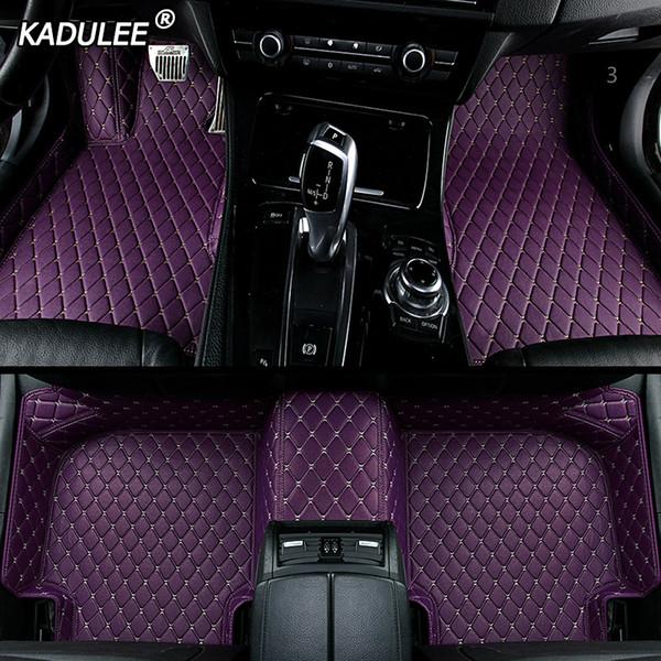 auto personalizzato Tappetino per Mercedes W212 gla W245 W211 W169 ml cla W204 gle impermeabile accessori tappeto