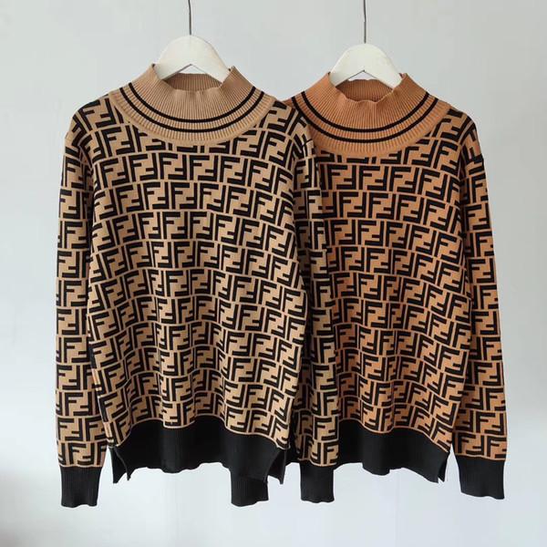 2020 femmes milan desinger blouse blouse en tricot Maille Chemises Pulls Femmes outwear