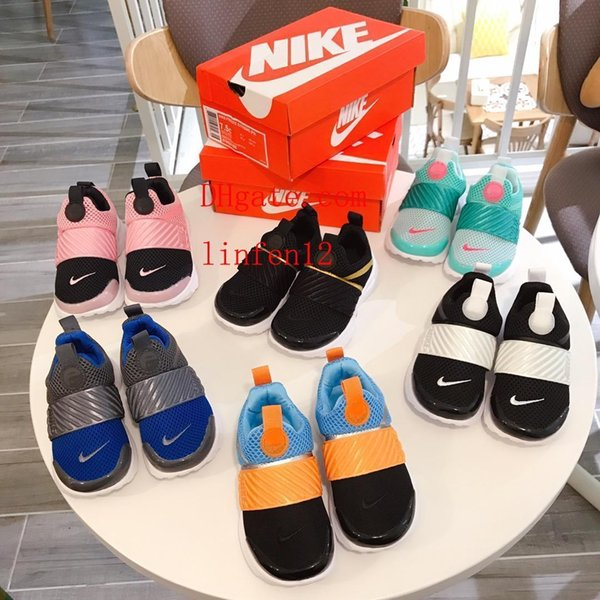 New kids Sandals 2019 Summer Children Loafers Soft-soled Anti-skid Sandals Hot Sale New Brand Letter Casual Children Flat Shoes TO-ds12