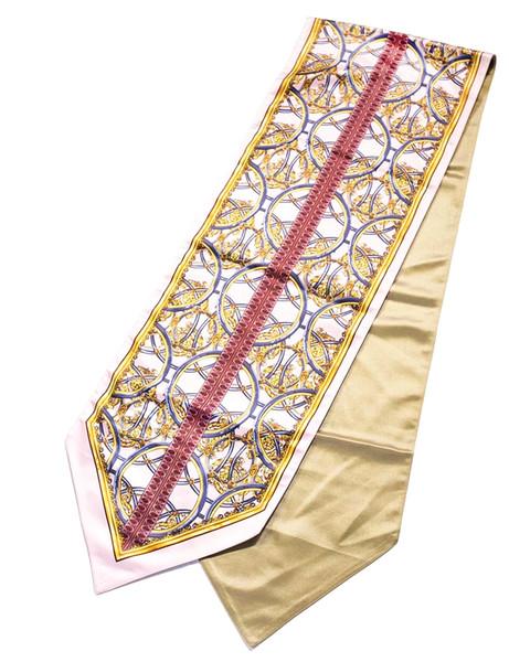Baroque Royal Brand Designer Medusa Table Cloth Velvet Luxury Table Runner Home Hotel Interiors Creative House Decor High Quality Bed Linens