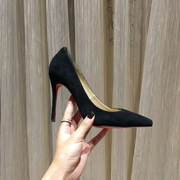 Noir (hauteur talon 8.5cm)