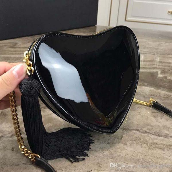 Nouvelle mode femmes sac à bandoulière designer marque luxe luxe en peau de vache frange de qualité supérieure aimant petit sac chaîne réglable livraison gratuite NB: 1901 +8