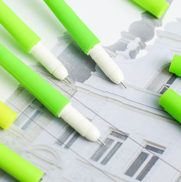 Nocturnal Grass Silica Gel Neutral Pen Creative Black Pen Student Office Stationery