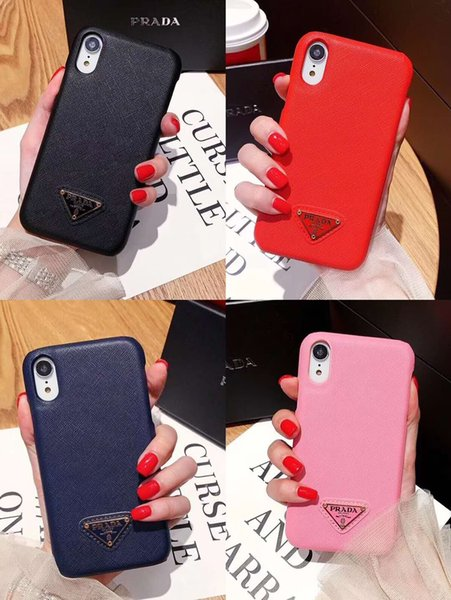 High Level Classic CellPhone Cover Luxury Designer Famous Pattern Mobile Phone Case For iPhone X XS Max XR 6 6s 7 8 Plus Back Protection