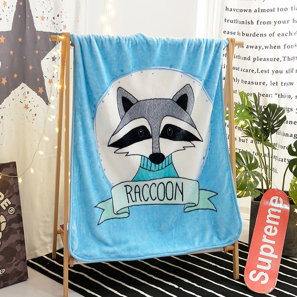 Outstanding Blue Cartoon Pattern Blanket For Kids Adults Cartoon Colorful Plush Throw Blanket Sofa Puppy Thin Quilt Sofa Cover Soft Warm Blankets Online Blue Gray Machost Co Dining Chair Design Ideas Machostcouk