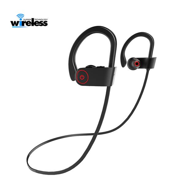 A8 Sport Bluetooth Kopfhörer Drahtloser Kopfhörer Bluetooth Headset Wasserdichte Rauschunterdrückung mit Mikrofon für Android iOS