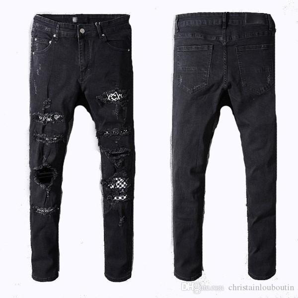 Moda MIRI Calças Curtas homens soltos Denim Homens Mulheres 2018 Nova Europa Hetero Jeans Men