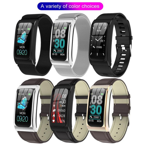 "2020 Smart Watch 1.14"" IP68 Waterproof Heart Rate Stopwatch Alarm Clock fitness Tracker Swim Watches PK X3 S2 Android IOS"