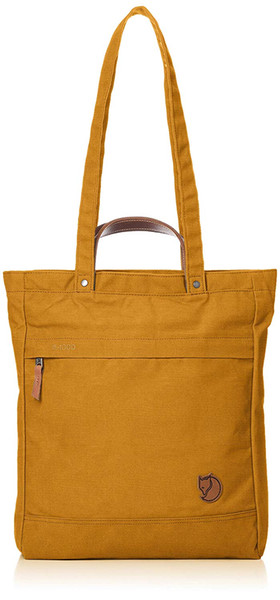 Discount Warm Yellow Fjallraven Totepack 1 Handbag The Long Shoulder Strap Can Be Placed On The Shoulder And The Short Handle Easy To Carry