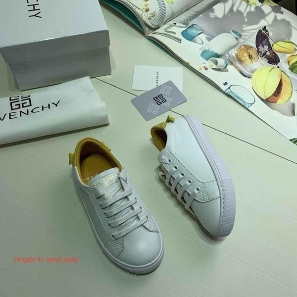 Novo designer de moda de luxo crianças sapatos casuais coreano sapatos infantis, meninos e meninas 'calçados esportivos, solas de borracha meninas sapato 0902