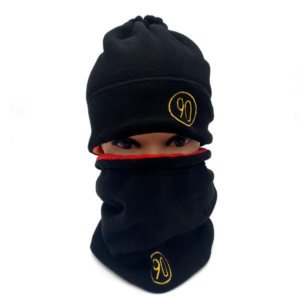 New 2017 Winter 2 Use Style Ski Cap Gorros Skullies Snowboard Hats For Men Women Skating Ski Caps Warm Beanies Hat or Scarf