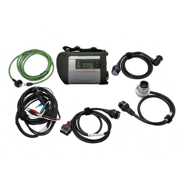 TOP Qualität MB STAR C4 SD CONNECT Diagnosetool mit 5 Kabeln mit WIFI und 21 Sprachen DHL FREE