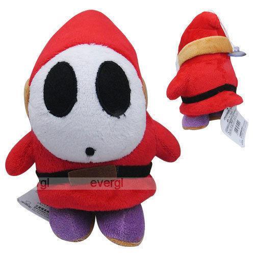 1шт Мальчик GriL игрушки куклы Super Mario Brothers Bros Shy Guy 6in Мягкая игрушка Плюшевые куклы