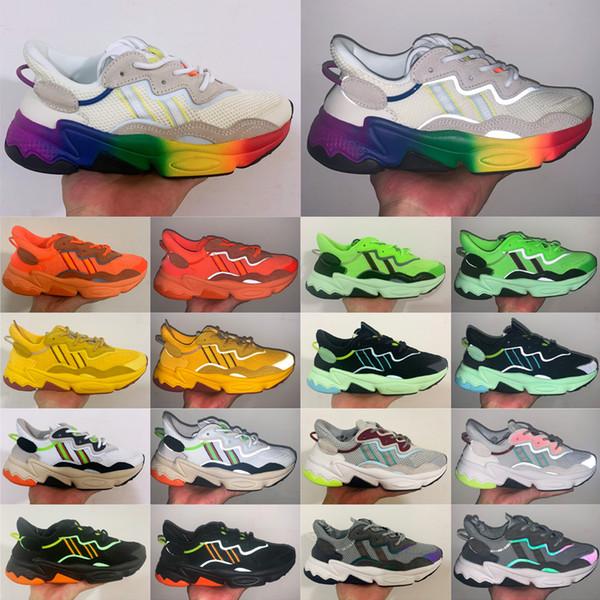 Mens Ozweego Sports Running Shoes Women'S Originals Flashlight Casual Shoes Trainer Designer Sneakers 36 45 Best Running Shoe Neutral Running Shoes