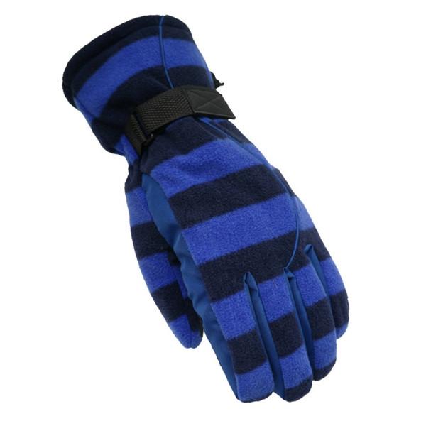 1 pair Men Women Winter Snow Gloves Windproof Waterproof Warm With Wrist Windbreak Outdoor Sports Skating Gloves