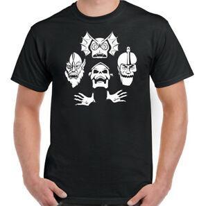Скелетор RhapFashiondy мужские смешной он-человек t-рубашка тренажерный зал королевы подготовки кадров высшей веса ММА