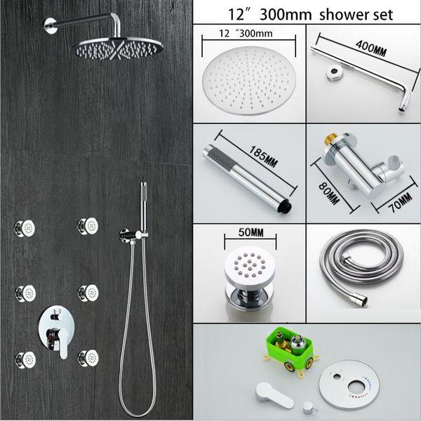 "12"" shower head set"