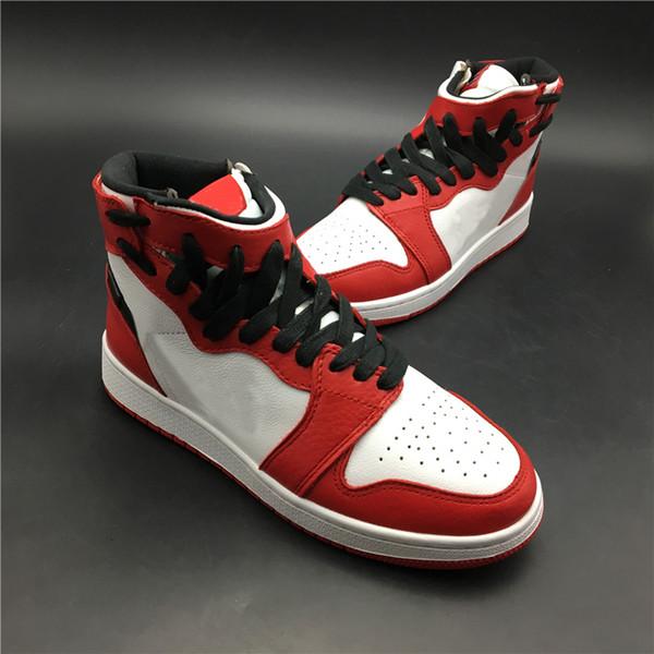 2019 REBEL XX OG TOP 3 Basketballschuhe 1 1s Chicago Rot Weiß Sportschuhe Herren Damen Designer Outdoor Sneakers Street Fashion Schuhe