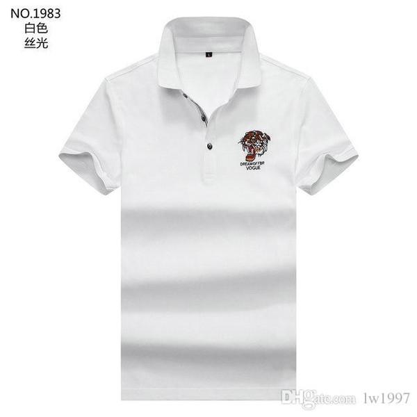 2019 Nuevo diseñador de moda Camiseta para hombre Camiseta Ropa para hombre Polo de marea Manga corta Top de verano M-3XL H9
