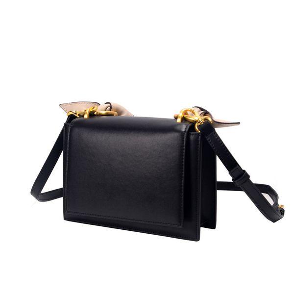 Beach Bag Woman 2019 Single Shoulder Small Square Package Genuine Leather Handbag Crossbody Bags New Design Fashion For Women korean Style