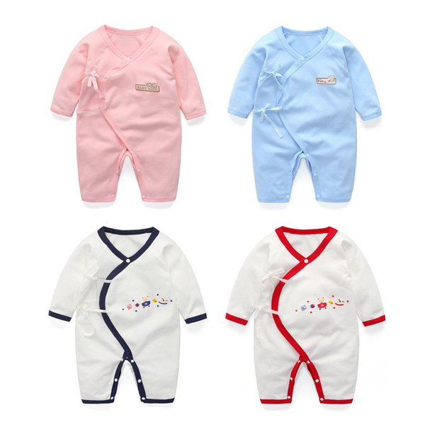 quality baby rompers autumn spring newborn baby jumpsuit clothes boys girls long sleeve pajamas rompers clothing babies wear