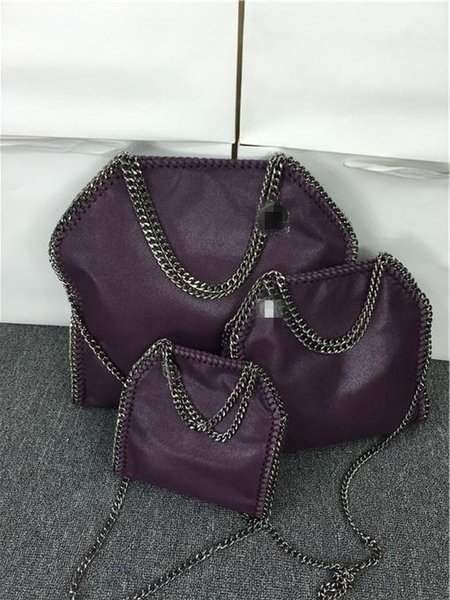 Free shipping fashion newest 809 styles W37cm * H36 cm* D8cm 17 color Women's fold over 3 Chain big size Tote shoulder Bags Measurement :