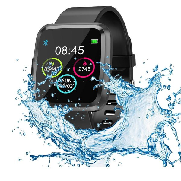 1.54 inch full touch fitness smart watch