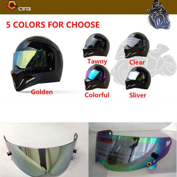 Original ATV Series Helmet Lens Helmet Visor Full Face Motorcycle Helmet Lens Replacement Lens Be Suitable For ATV 1-6 Helmets