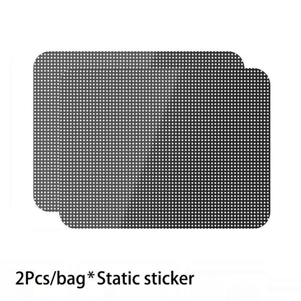UV Direnci Kalın Yüksek Performanslı Statik Sticker Mesh PVC Zararsız Güneş Kremi Kaplama Çevre Dostu Güneşlik Araba Aksesuarları