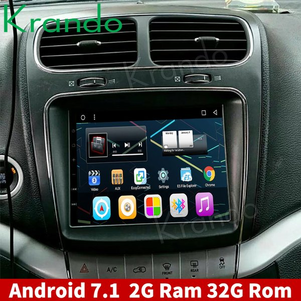 """Krando Android 7.1 8.4"""" car radio GPS navigation player for Fiat Freemont 2012-2014 audio entertainment system CAR DVD"""