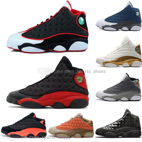 Fashion 13 13s Cap And Gown Terracotta Blush Mens Basketball Shoes Chicago Captain America Flints Bred Men Sports Sneakers Designer Outdoor