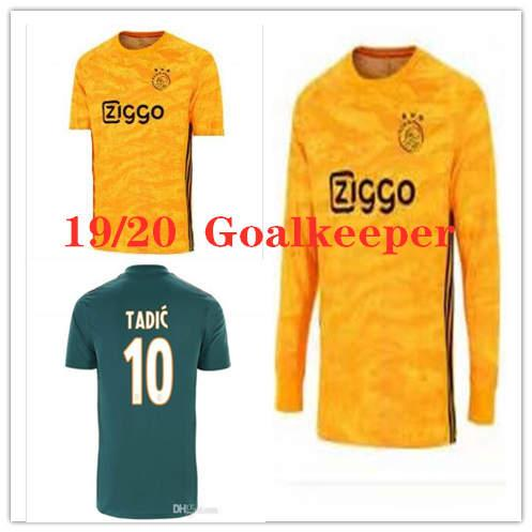19 20 AFC Ajax Kaleci GK Kaleci 24 Andre Onana Forması 1 Van Breukelen 1 Set Van Der Sar