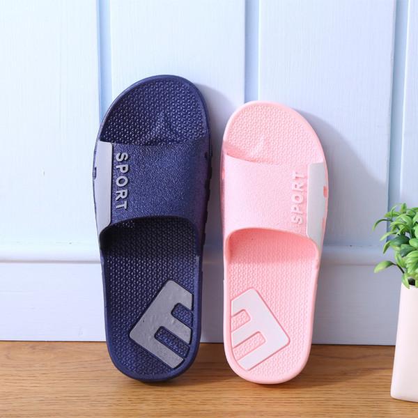 2019. Verano. Suela blanda. Zapatillas de hombre. Resistente al desgaste. Antideslizante. Playa. Hotel. Interior. Ducha. Zapatos casuales. Desgastes W2119M.