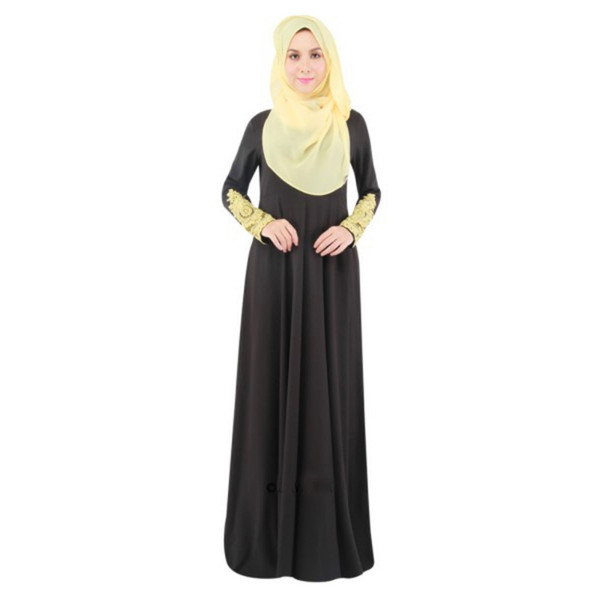 Latest Abaya Designs Abaya Turkish Clothing Muslim Dress Women Long Maxi Kaftan Lady Y4 Co1