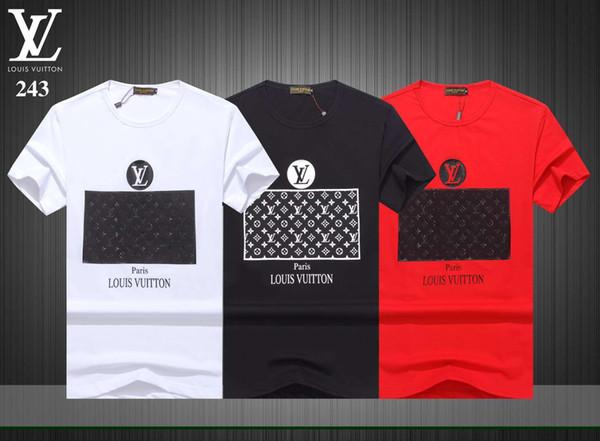 Marka Tee erkek Yaz Kısa Kollu T-Shrits Büyük Boy Moda% 100% Pamuklu Tişört Erkekler Moda Spor Coccer Ball Giymek Rahat Tee DE03