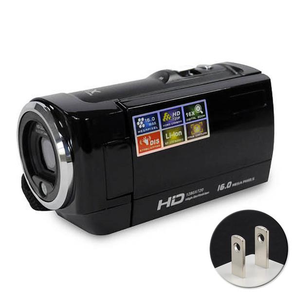 16-кратный цифровой зум HD Разрешение видео Многофункциональный портативный цифровой 720P ЖК-экран камеры