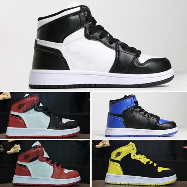 Acheter Nike Air Jordan 1 Basketball 2019 Jumpman 1 High OG Solefly X 1s Chicago Crystal Origin Story Chaussures De Basketball Femmes Hommes Baskets