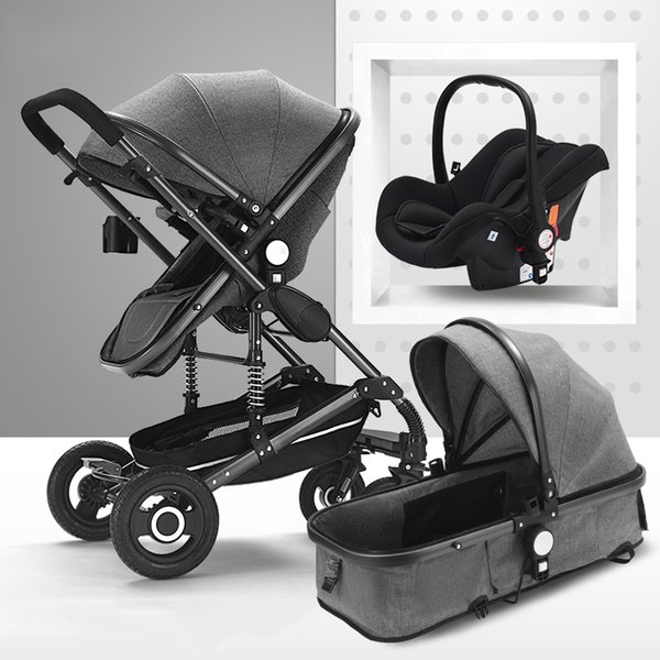 Gray with carseat