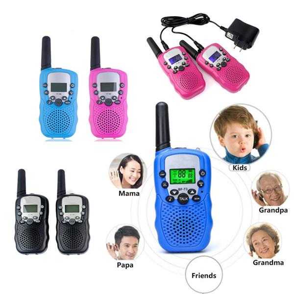Mini station de radio talkie-walkie pour enfants Retevis T388 0.5W PMR PMR446 FRS UHF Radio portable Radio bidirectionnelle Talkly Emetteur-récepteur