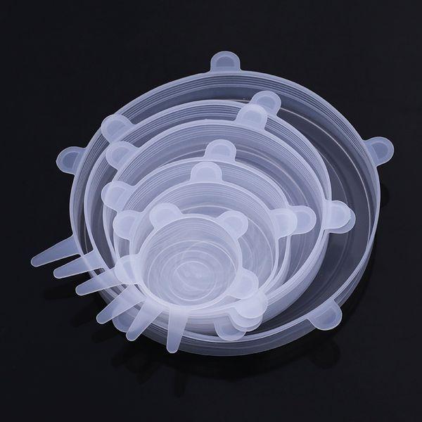 Bianco 6 pezzi 1 Set