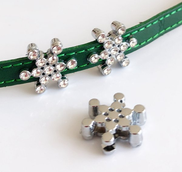 2019 Diy Accessory 8mm Rhinestone Snowflake Slide Charms Beads Fit Diy 8mm Dog Cat Collar Belts Wristband From Beauticharms 2 74 Dhgate Com