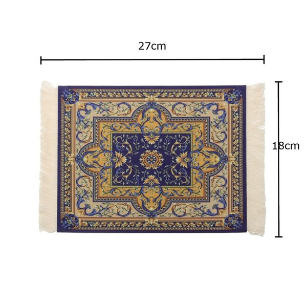 Bohemia Gaming Vintage Mouse Pad Persian Style Woven Rug Carpet Mouse Mat Office Tool Gift Mat Pad For Computer