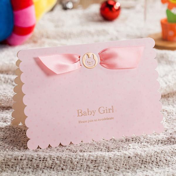 Compre Wishmade Pink Blue Baby Shower Invitación Tarjetas Con Lindo Bebé Coche Invita Kit De Tarjeta Para Boy Girl Cumpleaños Cw5301 A 1 24 Del
