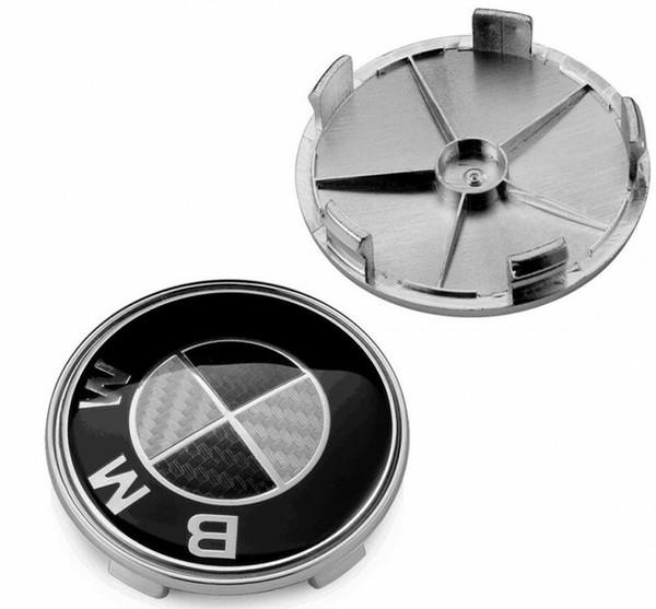 40 шт 68 мм черный белый углеродного волокна центр колеса крышка ступицы крышки 4 BMW сплава колеса центр крышки 68 мм углерода подходит E90 E46 E34 Z4 1 3 5 серии